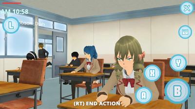 校园生活模拟器
