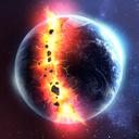 行星粉碎模拟