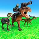 动物王国大战恐龙