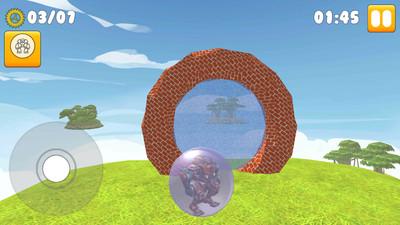 超级机器人球变形